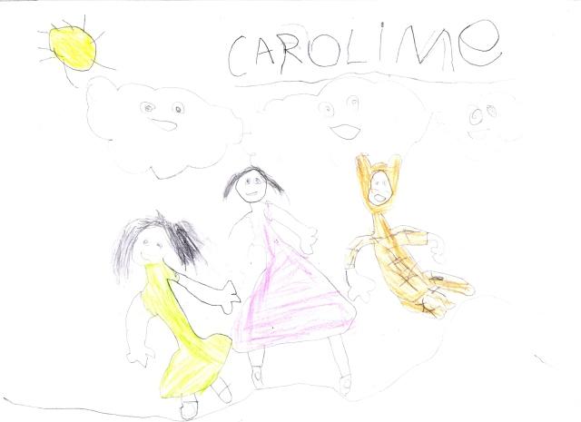 Os Brinquedos da Bebel - 2012 - CIAVIP - desenho feito por uma aluna da EMEI Conj. Residencial Elísio Teixeira Leite, Jaraguá, SP.