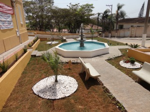 Chafariz da Igreja da Matriz - Sarapuí - SP