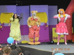 Os Brinquedos da Bebel no Festival Parque da Criança - Memorial da América Latina - SP