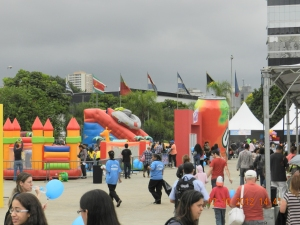 Os Brinquedos da Bebel no 1º Parque da Criança - Memorial da América Latina - SP
