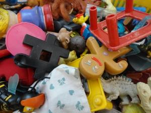 Caixa de brinquedos. Santa Julia Billiart. Por Elaine Oliveira.